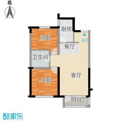 纳帕名门91.01㎡户型10室