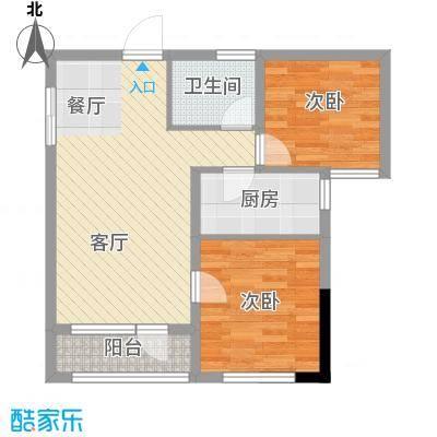 纳帕名门74.90㎡户型10室