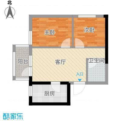 纳帕名门58.90㎡户型10室
