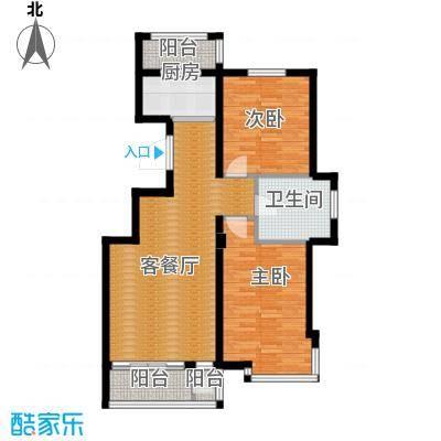 天和人家104.05㎡最新户型2室1厅1卫