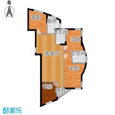 天和人家134.60㎡最新户型4室2厅2卫