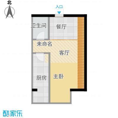 府兴雅园43.02㎡户型10室