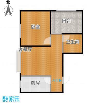 金沙枫景尚城53.54㎡户型10室