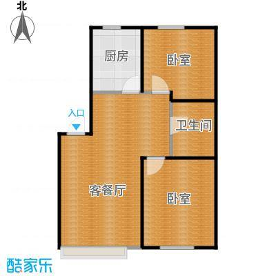 金沙枫景尚城60.70㎡户型10室