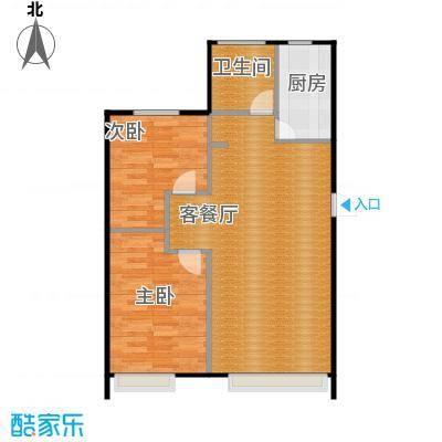 金沙枫景尚城87.67㎡户型10室
