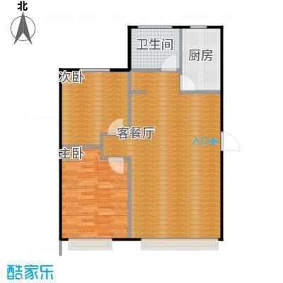 金沙枫景尚城88.27㎡户型10室
