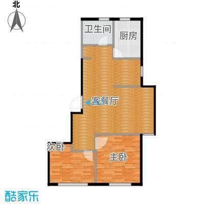 金沙枫景尚城81.94㎡户型10室