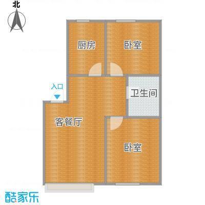金沙枫景尚城79.36㎡户型10室