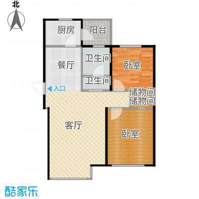 金沙枫景尚城71.50㎡户型10室