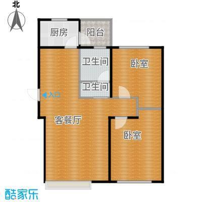 金沙枫景尚城89.10㎡户型10室