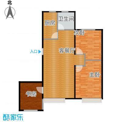 金沙枫景尚城98.99㎡户型10室