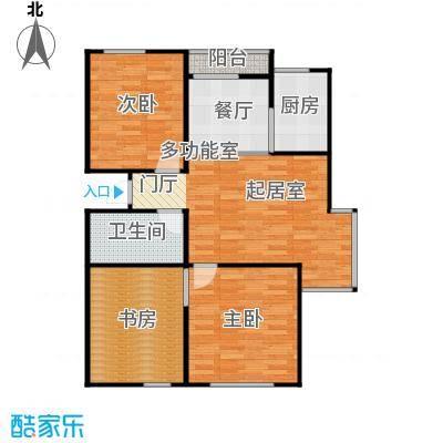 泰盈十里锦城89.81㎡户型10室