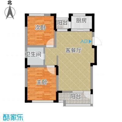 泰盈十里锦城76.67㎡户型10室