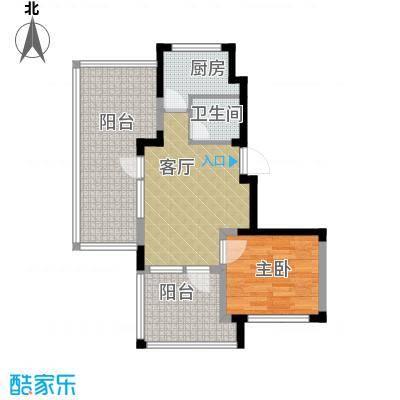 泰盈十里锦城65.29㎡户型10室