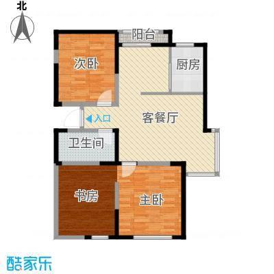 泰盈十里锦城88.65㎡户型10室