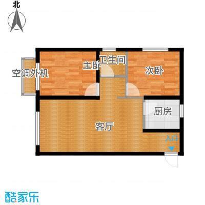泰盈十里锦城56.06㎡户型10室