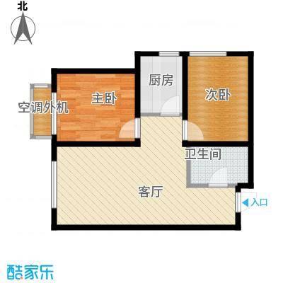 泰盈十里锦城55.11㎡户型10室
