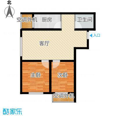 泰盈十里锦城61.75㎡户型10室