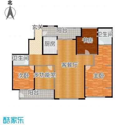 SR国际新城221.70㎡B户型3室1厅2卫