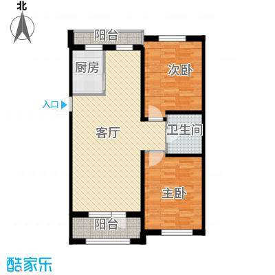 泰荣湾86.66㎡A户型10室