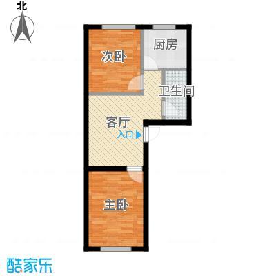 浑河湾68.73㎡X1/X2户型2室2厅1卫
