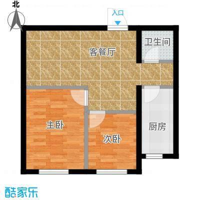亿丰南奥国际70.40㎡户型10室