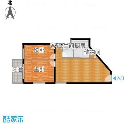 郑和国际广场74.94㎡04栋5-32层-M套型户型10室