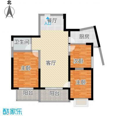 郑和国际广场100.73㎡0203栋30层B1-3套型户型10室