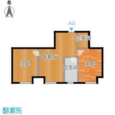 亿丰南奥国际80.50㎡户型10室