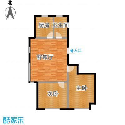 亿丰南奥国际99.10㎡户型10室