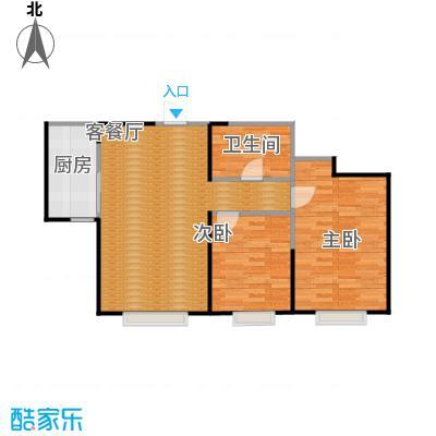 首创国际城95.00㎡一期住宅户型10室
