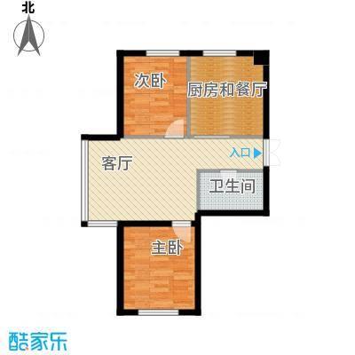 新华国际公寓86.42㎡A户型10室