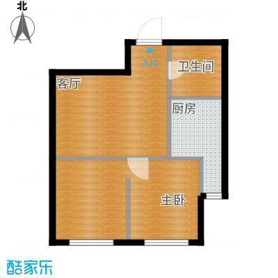 新华国际公寓63.69㎡B户型10室