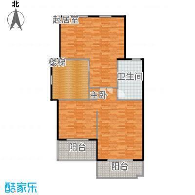 凤凰山庄98.00㎡一期联排C1三楼户型2室1厅1卫