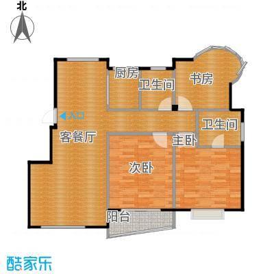 太平洋名苑86.51㎡-户型3室1厅2卫1厨