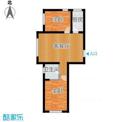 泰莱枫尚66.05㎡户型10室