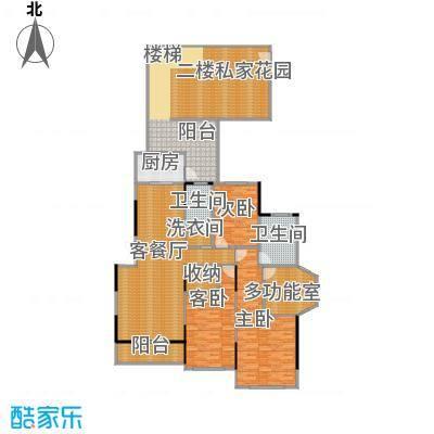 藏珑1620160.00㎡B2户型3室1厅2卫1厨