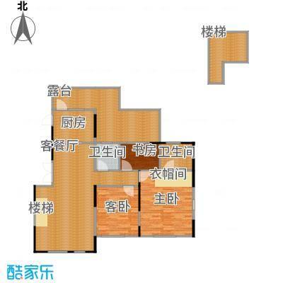 藏珑1620108.00㎡B6户型3室1厅2卫1厨