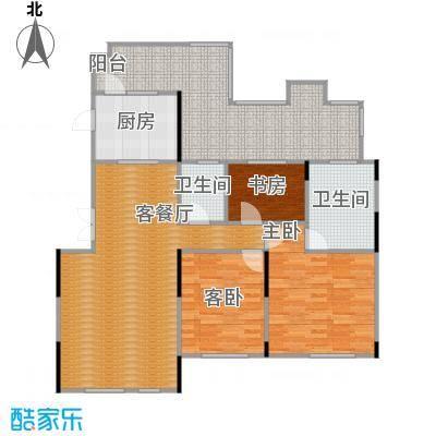 藏珑1620108.00㎡A6户型3室1厅2卫1厨
