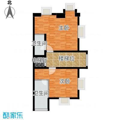 壹号官邸86.10㎡户型10室