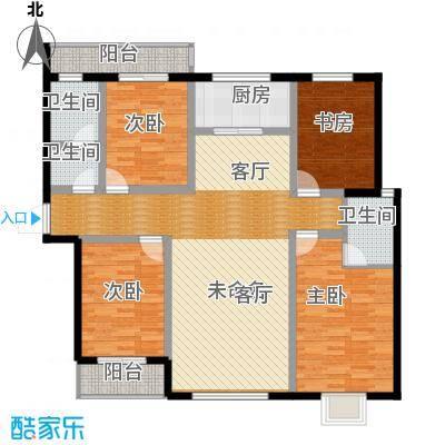 翠堤春晓162.25㎡F户型4室2厅2卫