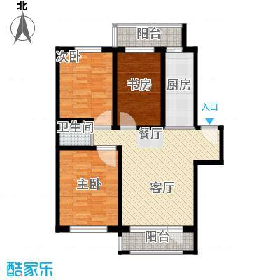 天润中华城79.86㎡户型10室