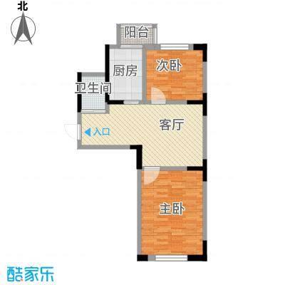 天润中华城61.76㎡户型10室