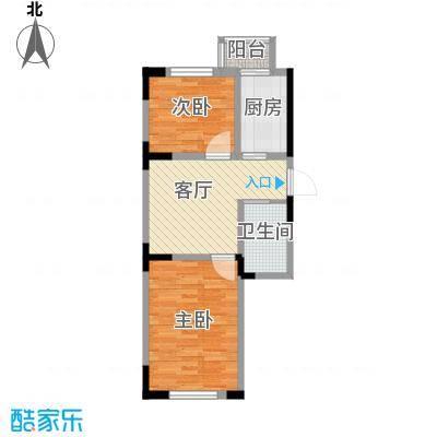 天润中华城53.85㎡户型10室