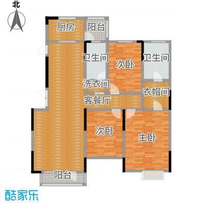 藏珑1620138.00㎡A4户型3室1厅2卫1厨