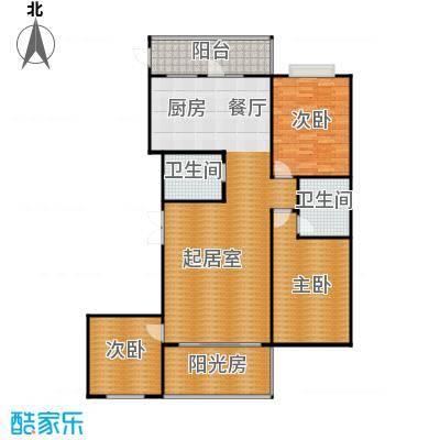 悦山国际108.21㎡户型10室