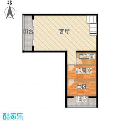 大运河孔雀城72.72㎡d1一层户型10室