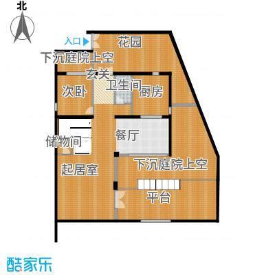 莫干山观云庄园515.00㎡T1一层户型10室