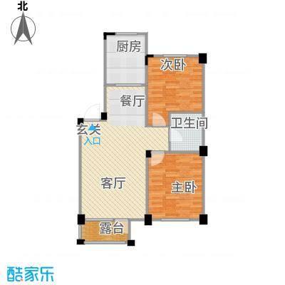 纳帕名门88.48㎡户型10室