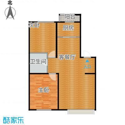 金沙枫景尚城71.54㎡户型10室